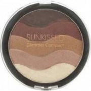 SUNkissed Glimmer Bronzing Compact 19.5g - Mörk