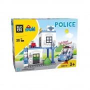 Joc constructie Blocki mubi, Sectia de politie, 38 piese