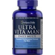 vitanatural ultra man - multivitamin - zeitgesteuert - 90 tabletten