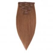 Rapunzel® Extensions Naturali Kit Clip-on Original 7 pezzi 5.1 Medium Ash Brown 40 cm
