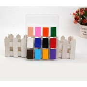 Oytra Polymer Clay Bake and Set | 12 Colors | Magic Plastilina Air Dry | Bakes in Oven