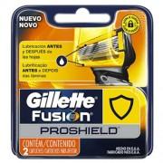 Carga Gillete Fusion Proshield Com 2 Unidades