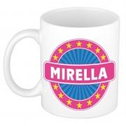 Bellatio Decorations Namen koffiemok / theebeker Mirella 300 ml
