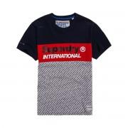 SUPERDRY T-Shirt Trophy Micro, runder Ausschnitt