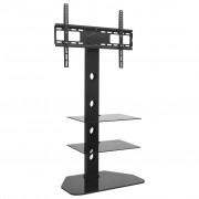 """vidaXL Otočný podlahový stojan na TV s 2 policami 32""""- 70"""""""