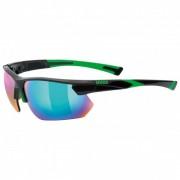 Uvex Sportstyle 221 S3 Mirror Occhiali da sole verde/grigio