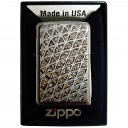 Zapalniczka Zippo Design Brushed Chrome No.2