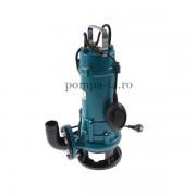 Pompă submersibilă cu tocător pentru apă murdară, canalizare, haznale sau fose septice IBO ZWQ 1500