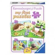 Ravensburger Dieren in de tuin legpuzzel 20 stukjes