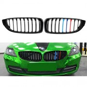 Tradico® Gloss Black M-Color Kidney Grilles Grills for BMW 4 Series F32 F33 F36 F82 Sport