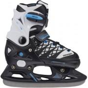 Kids Ice Skates Tempish Clips Verstelbare (Zwart)