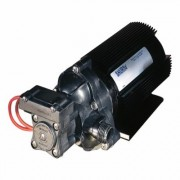 SHURflo 12 Volt Self-Priming Diaphragm Water Pump with Heat Sink - 216 GPH, 1/2 Inch Ports, Model 2088-514-145, Port