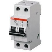 Siguranta automata 2 poli 25A SH202L-C25 ABB
