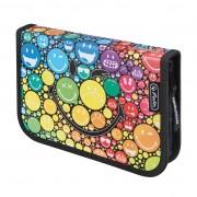 Penar echipat 19 piese dimensiune 20,3x14x3,5 cm, motiv SmileyWorld Rainbow