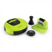 Klarstein Cleanhero Robot aspirateur Automatique Télécommande vert