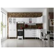 Cozinha Completa Itatiaia Premium de Aço Kit 08 Peças CZ24 - Cor Branco