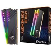 GIGABYTE AORUS 16GB KIT DDR4 3600MHz CL18 RGB
