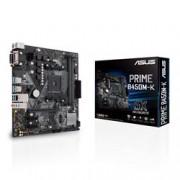 MB ASUS B450M-K AMD RYZEN AMD 2D4 V/H/D GBL M.2 6U3 PS2