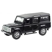 Rmz City Die Cast Land Rover Defender 110, Black/White (5-inch)