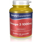 Simply Supplements Omega 3 1000mg - 120 Cápsulas