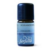 Farfalla - Bio Koriandermag illóolaj 5 ml