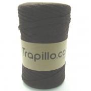 Trapillo Pluma Marrón Chocolate