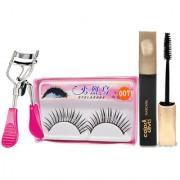 Color Diva Mascara Curler Eyelashes Combo Set of 3 GC563-By Adbeni