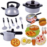 22Pcs Juguetes De Cocina 360DSC - Multicolor