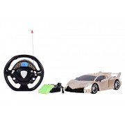 Planet of Toys 1:12 RC Speed Car Rechargeable Golden Edition