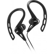 JVC - Wired Ear Clip-On Earbud Headphones - Black