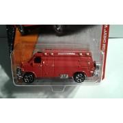 Matchbox Set of 4 - '95 Custom Chevy Van + Range Rover Evoque + BMW 1M + Infiniti G37 Coupe by Toy Matchbox Car
