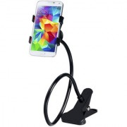 Universal Long Lazy Smart Phone Clip Stand For Home Bed Desk Table Car Mobile Holder (Assorted Color)