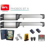 Automatizare poarta batanta cu brat fix BFT PHOBOS AC A25 KIT 230V , 2,5ml./canat , maxim 400 kg