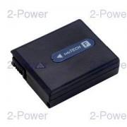 2-Power Videokamera Batteri Sony 7.2v 630mAh (NP-FF50)