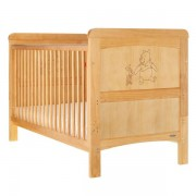 Winnie The Pooh & Piglet Cotbed - Country Pine