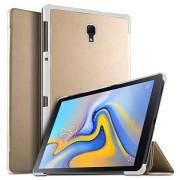 Tri-Fold Series Samsung Galaxy Tab A 10.5 Smart Folio Hoesje - Goud