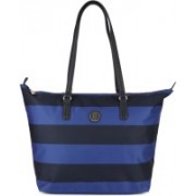Tommy Hilfiger POPPY TOTE PRINT Black, Blue Messenger Bag