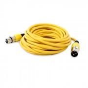 FrontStage XLR- кабел, жълт, 6м (CJ-M-XLR-XLR-6M-YL)