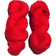 Vardhman Butterfly Red 300 gm hand knitting Soft Acrylic yarn wool thread for Art & craft Crochet and needle