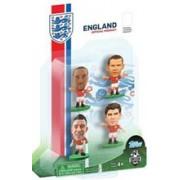 Figurine SoccerStarz England 4 Figurine Townsend Cahill Gerrard And Rooney 2014