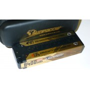 SUNPADOW SP8400-TS-74V Lipo-2S-7.4V-8400mah-120C-Hard case-TC (S684064)