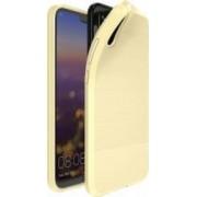 Husa de protectie Huawei P20 Dux Ducis rezistenta la socuri cu placuta metalica auriu