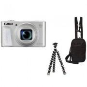 Canon Aparat CANON PowerShot SX730 HS Srebrny Travel kit