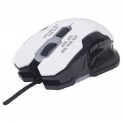 Mouse Optico Gaming USB Blanco C/luz