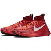 Nike Mens Free TR Force Flyknit Running Shoes (Team Red/White-Bright Crimson-Photo Blue, 11)