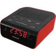 Radio cu ceas sencor SRC 136 Rosu RD