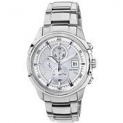Citizen Eco-Drive Analog White Dial Mens Watch - Ca0370-54A