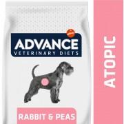 2x12kg Advance Veterinary Diets Atopic nyúl & borsó száraz kutyatáp