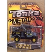 Tonka Metal Diecast Bodies - Gray Cherry Picker