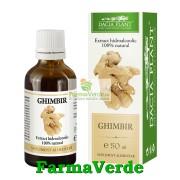 Tinctura de Ghimbir 50 ml DaciaPlant